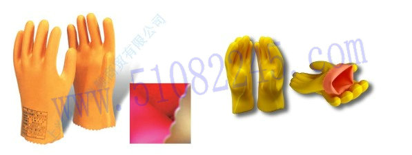 LOW VOLTAGE RUBBER INSULATING GLOVES(DOUBLE LAMINATION)双层低压橡胶绝缘手套